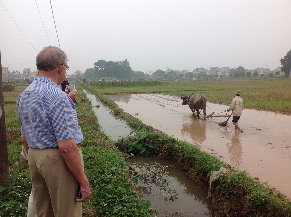 farm visit on vietnam holidays from uk