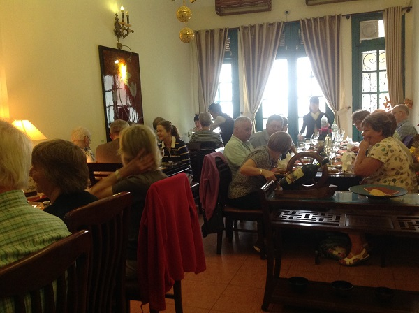 Lunch on best Vietnam  tours from Australia