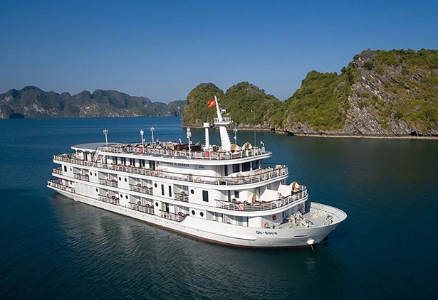 Paradise Elegance cruise offers luxury travel vietnam