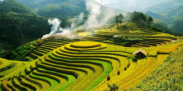 Best North Vietnam Tours Hanoi to Mu Cang Chai