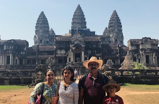 Mr. Vinod family on  their Thailand   Vietnam  Laos  Vacations 2019, 2020 with us