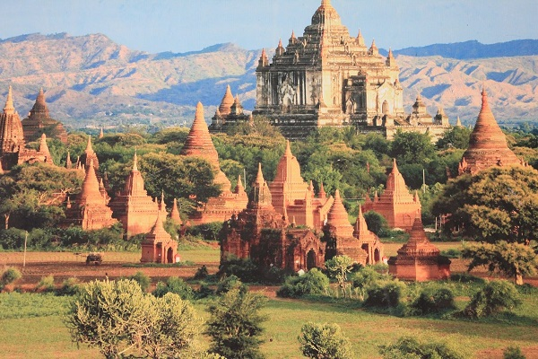 beautiful temple of Indein on 12day package tour   Myanmar and Vietnam  2020