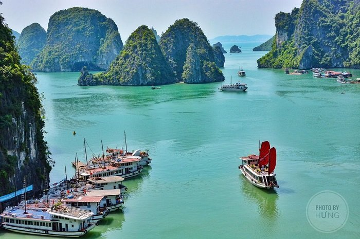 Halong bay on 12day Vietnam travel tours