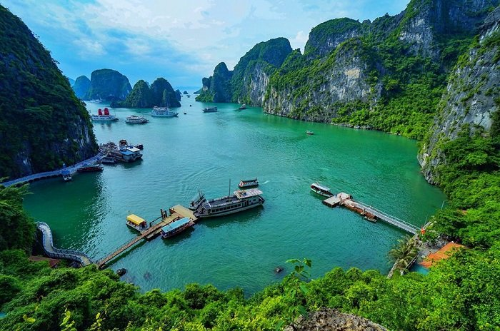 Halong on 17day Laos Vietnam Tour Package