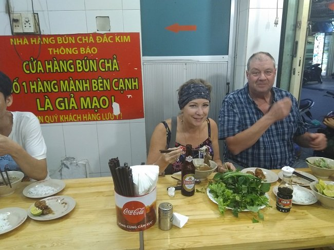 Tour Hanoi Vietnam with street food tour