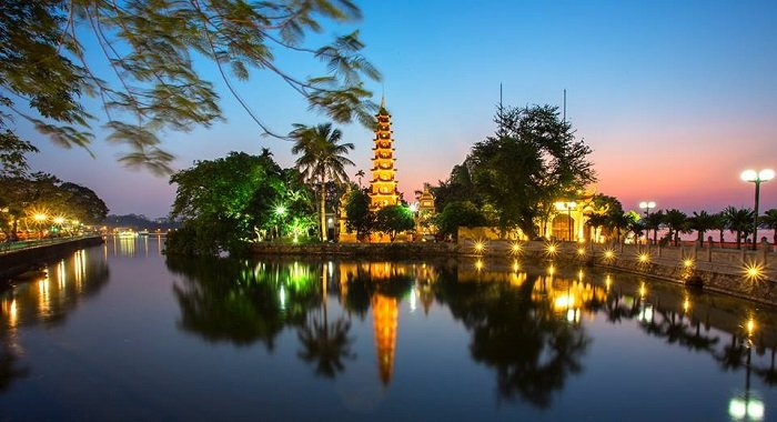 tour Hanoi city on your 13day Vietnam family holiday packages 2019