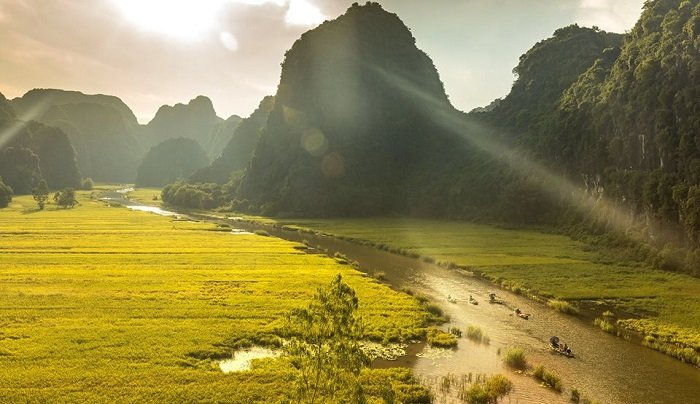 Tamcoc - Ninh Binh tours in Vietnam - daily tours from Hanoi