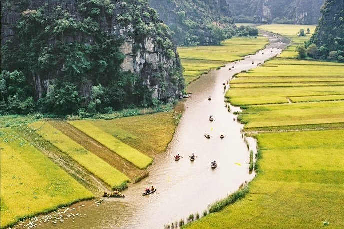 Tamcoc - Ninh Binh tour in Vietnam - daily tours from Hanoi