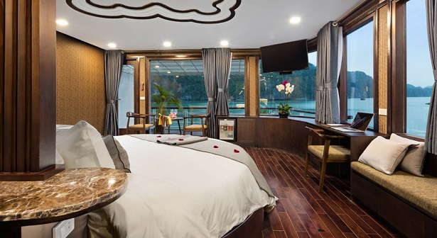 Luxury Orchid cruise for the best luxury Vietnam tours  2019, 2020